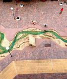 Mô hình sông Mississippi thu nhỏ cực kỳ tinh xảo