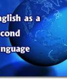 English as a Second Language Standards