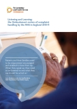 Listening and Learning: the Ombudsman's review of complaint  handling by the NHS in England 2010-11