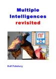Multiple  Intelligences  revisited
