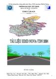 Tài liệu hướng dẫn sử dụng phần mềm Nova_TDN ứng dụng Thiết kế Đường