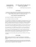 Quyết dịnh số  916/QĐ-UBND