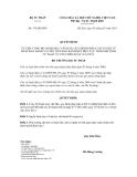 Quyết định số 376/QĐ-BTP