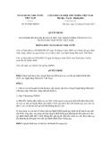 Quyết định số 454/QĐ-NHNN