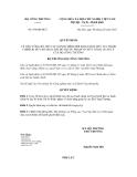 Quyết dịnh số 954/QĐ-BCT