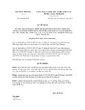 Quyết dịnh số 869/QĐ-BCT