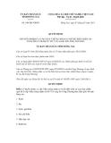 Quyết dịnh số  548/QĐ-UBND