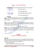 Dạng 3 Bài toán về độ tan