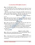 Bài toán tổng hợp cần lưu ý - Bài toán biên luận