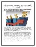 Xếp loại công ty quản lý quỹ, nhìn từ gốc vấn đề