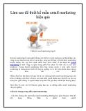Làm sao để thiết kế mẫu email marketing hiệu quả