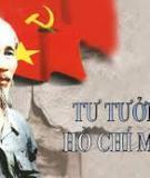 Đề tài: Tư tưởng Hồ Chí Minh về Đại đoàn kết dân tộc