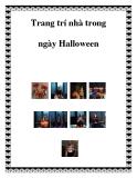 Trang trí nhà trong ngày Halloween