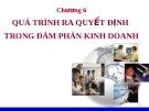 Bài giảng kỹ năng đàm phán - Chương 6