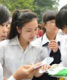 Đề thi tốt nghiệp và đáp án môn tiếng Anh - Hệ 3 năm năm 2013 (Mã đề 842)