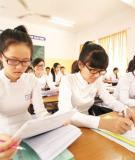 Đề thi tốt nghiệp và đáp án môn tiếng Anh năm 2013 - Chương trình Chuẩn và Nâng cao (Mã đề 362)