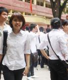 Đề thi tốt nghiệp và đáp án môn tiếng Anh năm 2013 - Chương trình Chuẩn và Nâng cao (Mã đề 529)