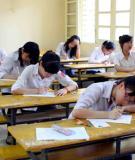 Đề thi tốt nghiệp và đáp án môn tiếng Anh năm 2013 - Chương trình Chuẩn và Nâng cao (Mã đề 635)