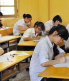 Đề thi - Đáp án môn Hóa học - Tốt nghiệp THPT Giáo dục thường xuyên ( 2013 ) Mã đề 364