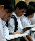 Đề thi - Đáp án môn Hóa học - Tốt nghiệp THPT Giáo dục thường xuyên ( 2013 ) Mã đề 425