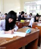 Đề thi - Đáp án môn Vật lí - Tốt nghiệp THPT Giáo dục thường xuyên ( 2013 ) Mã đề 641