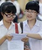 Đề thi - Đáp án môn Sinh học - Tốt nghiệp THPT Giáo dục thường xuyên ( 2013 ) Mã đề 215