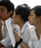 Đề thi - Đáp án môn Sinh học - Tốt nghiệp THPT Giáo dục thường xuyên ( 2013 ) Mã đề 791