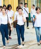 Đề thi - Đáp án môn Tiếng Trung - Tốt nghiệp THPT  ( 2013 ) Mã đề 274