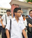 Đề thi - Đáp án môn Tiếng Trung - Tốt nghiệp THPT  ( 2013 ) Mã đề 735