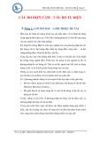 Tiểu luận: Cầu đo điện cảm – Cầu đo tụ điện