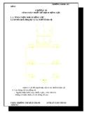 """Đề tài """" Thiết kế chỉnh lưu cầu 3 pha điều kiển tốc độ động cơ điện một chiều kích từ độc lập """" Chương 3"""