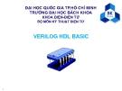 VERILOG HDL BASIC