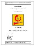 Báo cáo về: VI XỬ LÝ VÀ CẤU TRÚC MÁY TÍNH