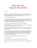 Kính vạn hoa (Nguyễn Nhật Ánh) - Tập 20 Anh và Em