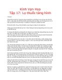 Kính vạn hoa (Nguyễn Nhật Ánh) - Tập 17 Lọ thuốc tàng hình