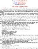 Kính vạn hoa (Nguyễn Nhật Ánh) - Tập 13 KHU VƯỜN TRÊN MÁI NHÀ