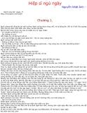 Kính vạn hoa (Nguyễn Nhật Ánh) - Tập 25 Hiệp sĩ ngủ ngày