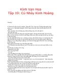 Kính vạn hoa (Nguyễn Nhật Ánh) - Tập 19 Cú Nhảy Kinh Hoàng