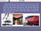 Chuyên đề 14 : Nguyên tắc thi công lắp đặt máy trên tàu