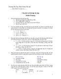 Câu hỏi và bài tập ôn tập Kinh tế lượng
