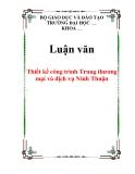 Luận văn: Thiết kế công trình Trung thương mại và dịch vụ Ninh Thuận