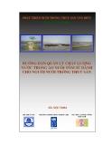 Hướng dẫn quản lý chất lượng nước trong ao nuôi tôm sú dành cho người nuôi trồng thủy sản