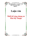 Luận văn: Thiết kế công chung cư Phú Mỹ Thuận