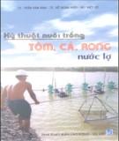 Ebook Kỹ thuật nuôi trồng tôm, cá, rong nước lợ - NXB Lao Động Xã Hội
