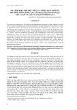 SO SÁNH BI ỆN PHÁP KỸ THUẬT VÀ HI ỆU QUẢ KINH TẾ MÔ HÌNH NUÔI TÔM CÀNG XANH (Macrobrachium rosenbergii ) XEN CANH VÀ LUÂN CANH VỚI TRỒNG LÚA