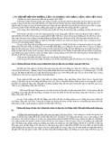 CÂU HỎI ĐỀ MỞ VỀ MÔN ĐƯỜNG LỐI CÁCH MẠNG CỦA ĐẢNG CỘNG SẢN VIỆT NAM