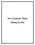 New Zealand: Thiên đường du lich