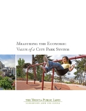 Measuring the Economic  Value of a City Park System