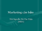 Marketing căn bản - khái niệm và lý thuyết