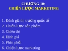 Cách lập chiến lược marketing